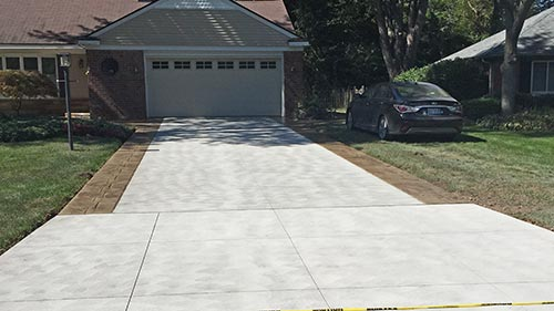 Driveway replacement contractor in sterling heights, utica, washington township, st clair shores, michigan