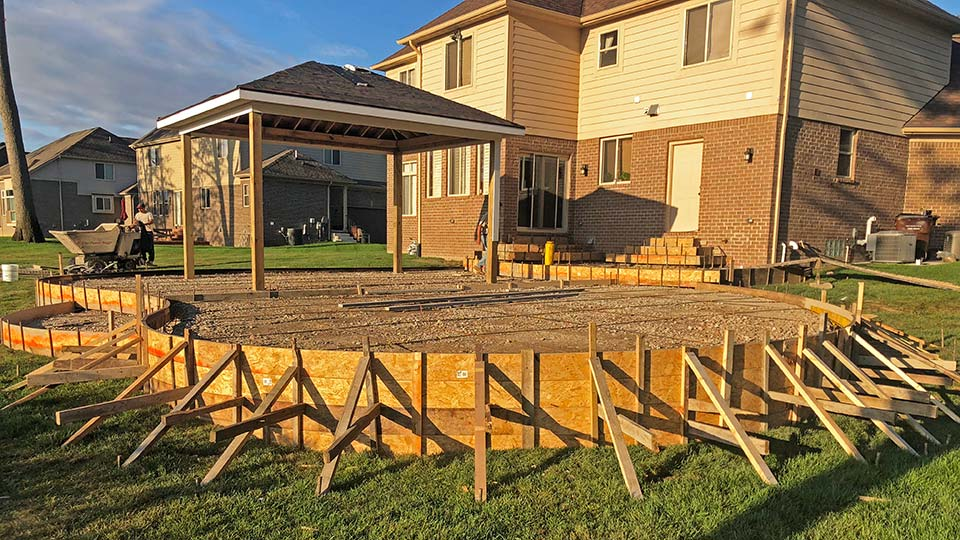Stamped Concrete Patio Contractor in Southeast Michigan